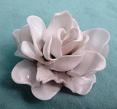 plastic spoon flower...working on this right now trying to figure out what to do with the remains lol