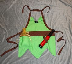 Peter Pan Boys Dress Up Apron Costume by runningoutamoonlight