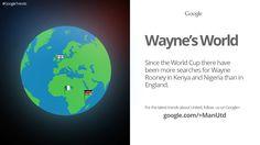 This Google Trend displays the global appeal of @manutd skipper Wayne Rooney.
