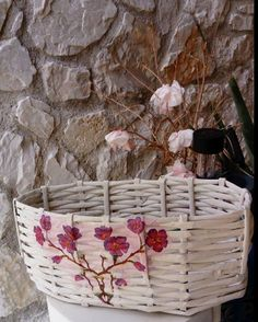 basket from newspaper