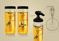 "Honey ""from the roof"" - package design Best Before on Behance"
