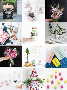 Poppytalk: 21+ Beautiful Weekend Projects to Try