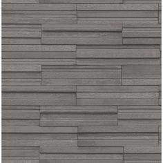 Fine Decor Ceramica Slate Tile Washable Wallpaper Charcoal (FD40126) - Wallpaper from I love wallpaper UK