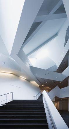 Denver Art Museum Addition, Denver Colorado, Daniel Libeskind Ar