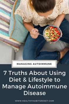 Sometimes, it sounds so easy, but using diet and lifestyle to manage autoimmune disease isn't what some people think. #autoimmunediseasediet #livingwellwithautoimmunedisease #autoimmunediseasetips