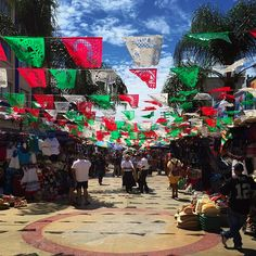 Avenida Revolucion in #Tijuana is perhaps the best known street for shoppers, with a great take in artisan shops, many of which also feature fine folkloric art along with jewelry, leather goods and other crafts.  Photo taken at Avenida Revolución by Sasha Benson