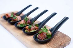 Scallops wrapped in parma ham Parma Ham, Sugar And Spice, Scallops, Eggplant, Spices, Food And Drink, Mint, Website, Vegetables