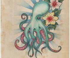 girly octopus