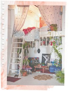 Inspiration ideas I would want my room to look like