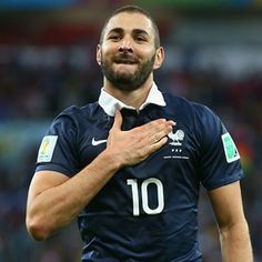 Benzema leads the table of high goal scorers in the World Cup with 3 goals