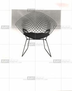 Press Photo Harry Bertoia  Chair Harry furnishings