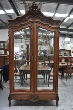 Lily Pond ~ Antique French Louis Xv Style Two Door Armoire Enquiries  Lilypond.net.