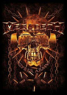 Megadeth Albums Heavy Metal Rock Power Bands Hard