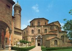 Ravenna, Italy.  The mosaics of Justinian and Theodora can only be seen in pictures so many times before they must be seen in person.