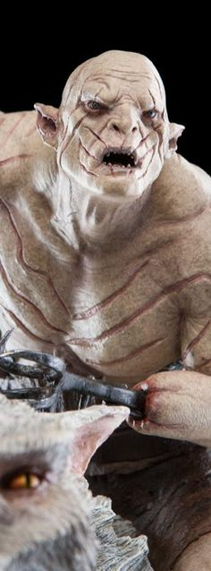 Hobbit Collectibles Azog™ the Defiler on Warg