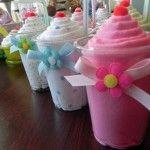 Centros de mesa en forma de helado