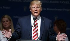 Donald Trump is threatening to sue the New York Times newspaper. Photograph…