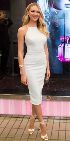 Candice Swanepoel in Christian Siriano - April 30, 2015
