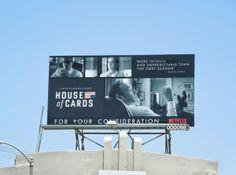 House of Cards season 2 Emmy Consideration 2014 billboard