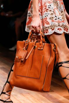 Valentino Spring 2015 • Style School - women's leather handbags on sale, black and tan handbag, womens purse brands *sponsored https://www.pinterest.com/purses_handbags/ https://www.pinterest.com/explore/purses/ https://www.pinterest.com/purses_handbags/leather-purses/ https://www.guessfactory.com/en/Catalog/Browse/women/handbags/view-all/