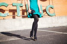 Green Party Dress - Dallas Wardrobe
