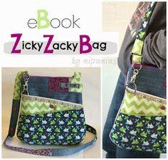 mipamias: ZickyZackyBag - mein Taschen-eBook ist fertig!