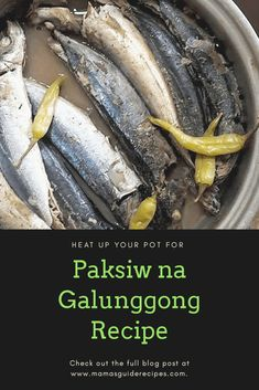 How to Cook Paksiw na Galunggong (Classic Recipe), or paksiw na isda. This is the traditional way our Lola's would cook paksiw. Paksiw is a Fish cooked in vinegar. For Filipinos, this an old recipe going back to time where life were so simple.