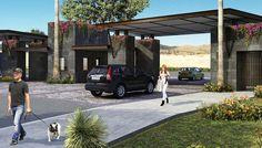 Entrance Design, Gate Design, Entrance Gates, Main Entrance, Urban Landscape, Landscape Design, Gate Way, Guard House, Hillside Landscaping