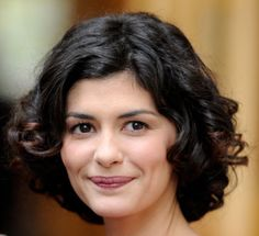 Daily Hairstyle Idea(s): Audrey Tautou's Curly Options for Short Hair