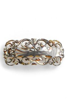 France Luxe 'Baroque' Barrette available at #Nordstrom