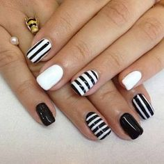 "Image result for ""harley davidson nail designs"" black"