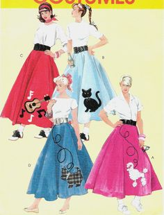 Free Pattern For A Poodle Skirt