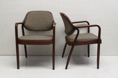 Pair of Don Pettit Chairs for Knoll in  by athomemodern on Etsy, $345.00