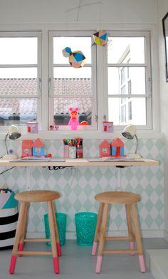 kids desk #werkplekje | mortilmernee