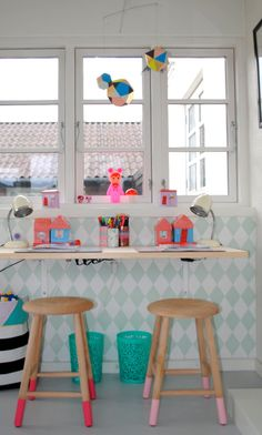 kids desk #werkplekje | mortilmernee