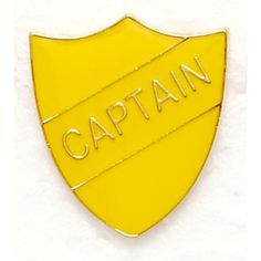 Captain Shield Badge (2.73 CAD) ❤ liked on Polyvore featuring jewelry, brooches, harry potter, hogwarts, accessories, hufflepuff, pins, pin brooch and pin jewelry