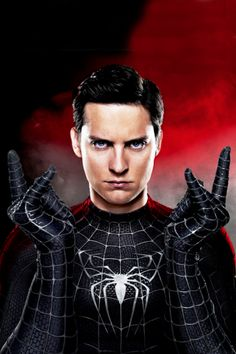 Tobey maguire black spiderman - photo#3