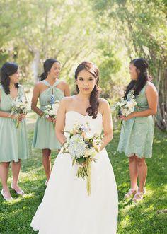 pastel, earthy cools   Alixann Loosle Photography: Margaret + JR Wedding