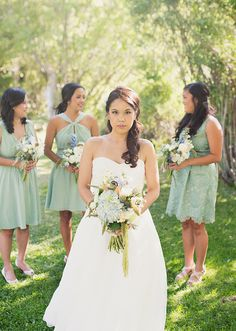 pastel, earthy cools   Alixann Loosle Photography: Margaret + JR Wedding