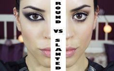 Round VS Slanted Eyes Makeup Tutorial | Claire Dim - YouTube