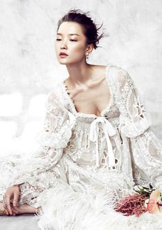 "Du Juan in ""A Fairy's Dream"" for Vogue China December 2014"
