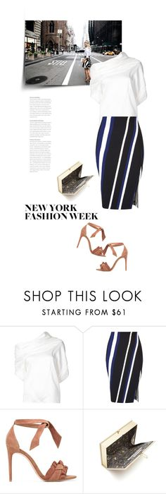 """""""What to Wear to NYFW"""" by bliznec ❤ liked on Polyvore featuring Monse, Miss Selfridge, Alexandre Birman, Olympia Le-Tan, NYFW, polyvoreeditorial and polyvorecontest"""