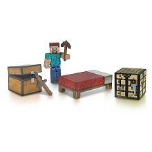 Minecraft - Figurine Coffret Survie avec accessoires