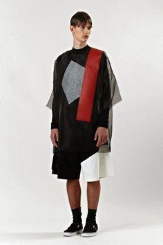 Male Fashion Trends: Nicomede Talavera Spring/Summer 2014: Asimetrías y transparencias para el verano