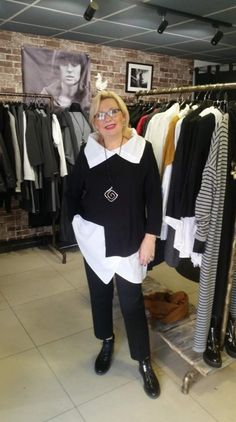 Best Fashion Ideas For Women Over 50 - Fashion Trends 60 Fashion, Over 50 Womens Fashion, Fashion Over 50, White Fashion, Plus Size Fashion, Fashion Dresses, Elisa Cavaletti, Look Plus Size, Advanced Style