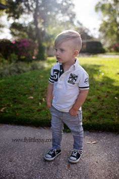 Stylish Toddler Boy.