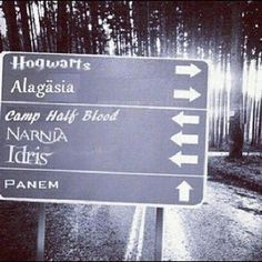 If only road signs did look like this