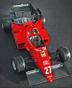 I like the race car 1984 Ferrari 126 Ferrari F1, Ferrari Racing, F1 Racing, Grand Prix, Michele Alboreto, Subaru, Classic Race Cars, Gilles Villeneuve, Audi