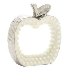 DecMode Ceramic Apple Figurine - 74667
