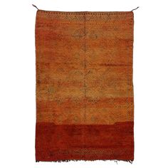 Vintage Berber Tribal Moroccan Rug | From a unique collection of antique and modern moroccan and north african rugs at https://www.1stdibs.com/furniture/rugs-carpets/moroccan-rugs/